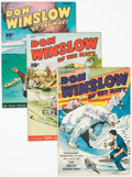 Golden Age (1938-1955):War, Don Winslow of the Navy Crowley File Copy Group of 7 (FawcettPublications, 1946-48) Condition: Average FN+.... (Total: 7 ComicBooks)