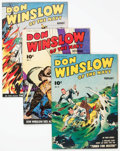 Golden Age (1938-1955):War, Don Winslow of the Navy Crowley File Copy Group of 5 (FawcettPublications, 1943-45).... (Total: 5 Comic Books)