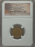Civil War Merchants, 1864 D. Peck & Co., Ironton, MO, Fuld 400A-1b, R.9 --Improperly Cleaned -- NGC Details. Unc. ...