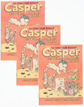 Bronze Age (1970-1979):Cartoon Character, The Friendly Cub Scout Casper, His Den... and Their Dentist #nn American Dental Association Giveaway Unopened Shipping Bundle ...