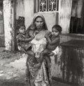 Photographs, Max Natkiel (Dutch, b. 1942). India . Gelatin silver. 15-1/4x 15-1/4 inches (38.7 x 38.7 cm). Signed and titled in ink ...