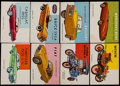 Non-Sport Cards:Singles (Pre-1950), 1954-55 Topps World on Wheels Collection (66).. ...