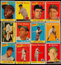 Baseball Cards:Lots, 1958 Topps Baseball Collection (310)....