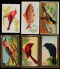 "Non-Sport Cards:Lots, 1910-12 Church & Dwight, Mecca, Sweet Caporal ""Bird"" and Fish""Series Collection (157)...."