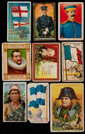 Non-Sport Cards:Lots, 1909-12 Multi-Brand Non-Sports Collection Tobacco Collection(143)....
