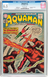 Aquaman #1 (DC, 1962) CGC FN+ 6.5 Off-white pages
