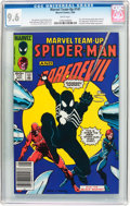 Modern Age (1980-Present):Superhero, Marvel Team-Up #141 Spider-Man and Daredevil (Marvel, 1984) CGC NM+9.6 White pages....