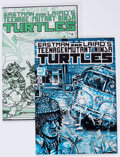 Modern Age (1980-Present):Superhero, Teenage Mutant Ninja Turtles #3 and 4 Group (Mirage Studios,1985).... (Total: 2 Comic Books)