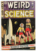 Golden Age (1938-1955):Science Fiction, Weird Science #7 (EC, 1951) Condition: VG-....