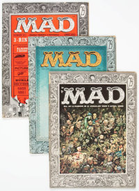 MAD Magazine #15 and 27-29 Group (EC, 1954-56) Condition: Average VG.... (Total: 4 Comic Books)