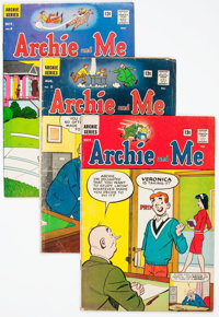 Archie and Me Near-Complete Series Box Lot (Archie, 1964-87) Condition: Average GD/VG
