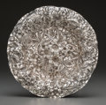 Silver Holloware, American:Bowls, A Shiebler Silver Repoussé Bon Bon Bowl, New York, New York, circa1900. Marks: (winged S), STERLING, 2679X. 1 inch high...
