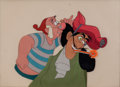 Animation Art:Production Cel, Peter Pan Captain Hook and Mr. Smee Production Cel Setup(Walt Disney, 1953)....