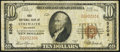 National Bank Notes:Oklahoma, Stillwater, OK - $10 1929 Ty. 1 The First NB Ch. # 5206. ...