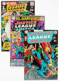 Justice League of America Group of 20 (DC, 1966-73) Condition: Average FN+.... (Total: 20 Comic Books)