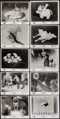 "Movie Posters:Animation, Fantasia (Buena Vista, R-1963). Photos (10) (8"" X 10""). Animation.. ... (Total: 10 Items)"