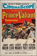 "Movie Posters:Adventure, Prince Valiant & Other Lot (20th Century Fox, 1954). One Sheets(2) (27"" X 41""). Adventure.. ... (Total: 2 Items)"