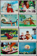 "Movie Posters:Animation, Hey There, It's Yogi Bear (Columbia, 1964). Color Photos (11) (8"" X 10""). Animation.. ... (Total: 11 Items)"