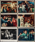 "Movie Posters:Adventure, The High and the Mighty (Warner Brothers, 1954). Photo & ColorPhotos (8) (approx. 8"" X 10""). Adventure.. ... (Total: 9 Items)"