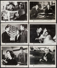 """The Wrong Man (Warner Brothers, 1957). Photos (24) (8"""" X 10""""). Hitchcock. ... (Total: 24 Items)"""