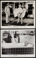 """Movie Posters:Comedy, The Seven Year Itch (20th Century Fox, 1955). Photos (2) (8"""" X10""""). Comedy.. ... (Total: 2 Items)"""