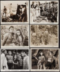 """Movie Posters:Adventure, Tarzan and the Leopard Woman & Others Lot (RKO, 1946). Photos(8) & Reissue Photos (2) (8"""" X 10""""). Adventure.. ... (Total: 10Items)"""