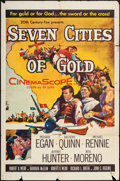 "Movie Posters:Adventure, Seven Cities of Gold & Others Lot (20th Century Fox, 1955). OneSheets (6) (27"" X 41""). Adventure.. ... (Total: 6 Items)"