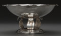 Silver Holloware, Mexican:Holloware, A Mexican Silver-Plated Footed Centerpiece Bowl, 20th century. 5 inches high x 10 inches diameter (12.7 x 25.4 cm). ...