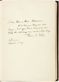 Books:Biography & Memoir, Edwin L Sabin. INSCRIBED. Kit Carson Days. Chicago: A. C. McClurg & Co., 1914....