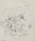 Animation Art:Concept Art, The Bugs Bunny Show Publicity Drawing (Warner Brothers,1960)....