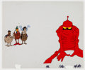 Animation Art:Production Cel, Wizards Peace, Weehawk, Avatar, and Elinore Production CelSetup (Ralph Bakshi, 1977)....