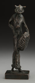 Fine Art - Sculpture, American:Modern (1900 - 1949), Ethel May Klinck Myers (American, 1881-1960). Fancy Lady,1913. Bronze with brown patina, cast in 1963 by the artist's d...