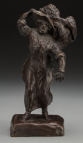 Fine Art - Sculpture, American:Modern (1900 - 1949), Ethel May Klinck Myers (American, 1881-1960). The Matron,1912. Bronze with brown patina, cast by the artist's daughter,...