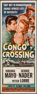 "Movie Posters:Adventure, Congo Crossing (Universal International, 1956). Inserts (3)Identical (14"" X 36""). Adventure.. ... (Total: 3 Items)"