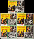"""Movie Posters:Western, Rio Lobo & Others Lot (20th Century Fox, 1971). Mexican Lobby Cards (7) & Mexican Lobby Card Sets of 8 (7 Sets) (Approx. 12""""... (Total: 63 Items)"""