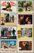 "Movie Posters:Drama, Somebody Up There Likes Me & Others Lot (MGM, 1956). LobbyCards (28) & Lobby Card Sets of 8 (7 Sets) (11"" X 14""). Drama..... (Total: 84 Items)"