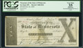 Obsoletes By State:Minnesota, St. Paul, MN - Treasurer of the State of Minnesota $10 Feb. 20,1858 D10. ...