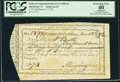 Colonial Notes:Connecticut, State of Connecticut Interest Certificate PCGS Apparent ExtremelyFine 40.. ...