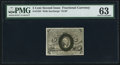 Fractional Currency:Second Issue, Fr. 1233 5¢ Second Issue PMG Choice Uncirculated 63.. ...