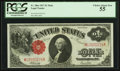 Fr. 38 $1 1917 Mule Legal Tender PCGS Choice About New 55