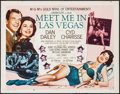 "Movie Posters:Musical, Meet Me in Las Vegas & Others Lot (MGM, 1956). Half Sheets (3) (22"" X 28"") Style B. Musical.. ... (Total: 3 Items)"