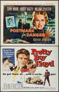"Movie Posters:Crime, Postmark for Danger & Others Lot (RKO, 1955). Half Sheets (5) (22"" X 28""). Crime.. ... (Total: 5 Items)"