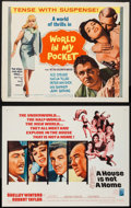 "Movie Posters:Foreign, World in My Pocket & Others Lot (MGM, 1962). Half Sheets (13) (22"" X 28""). Foreign.. ... (Total: 13 Items)"