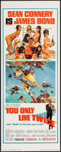 "Movie Posters:James Bond, You Only Live Twice (United Artists, 1967). Insert (14"" X 36"").James Bond.. ..."