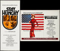 "Movie Posters:Comedy, Stay Hungry & Others Lot (United Artists, 1976). Insert (14"" X36""), Half Sheets (2) (22"" X 28""), & Italian Photobusta(18.5... (Total: 4 Items)"