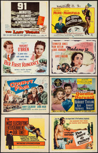 Witness for the Prosecution & Others Lot (United Artists, 1958). Title Lobby Cards (13), Lobby Cards (200), Lobby Ca...