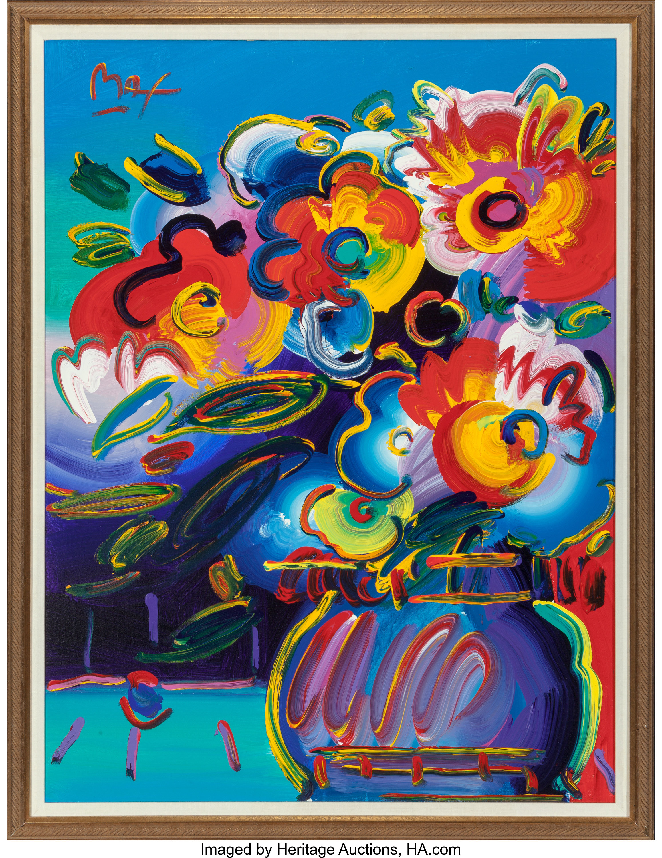 Peter Max Paintings For Sale Value Guide Heritage Auctions