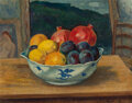 Fine Art - Painting, American:Modern  (1900 1949)  , Leon Kroll (American, 1884-1974). Still Life in the Studio.Oil on panel . 16 x 26 inches (40.6 x 66.0 cm). Signed and t...