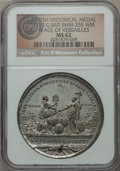 Betts Medals, 1783 Treaty of Paris, Peace of Versailles, Betts-610, BHM-255, MS62 NGC. ...