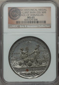 Betts Medals, 1783 Treaty of Paris, Peace of Versailles, Betts-610, BHM-255, MS63NGC. ...